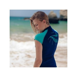 Ocean Positive Hydroskin Capped Sleeve Damen