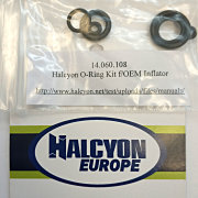 Halcyon Inflator O-Ring Kit