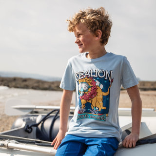 Sea Lion Kids T-Shirt 5-6 Jahre