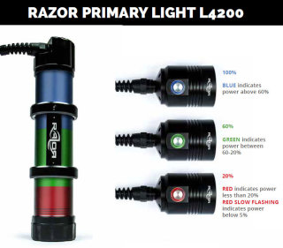 Razor L4200 Wireless Tauchlampe