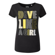 Dive Like A Woman T-Shirt Damen