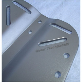 Heser Backplate 4mm / 3,3 Kg