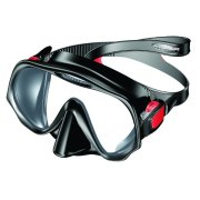 Atomic Frameless 2 Maske Medium schwarz/rot